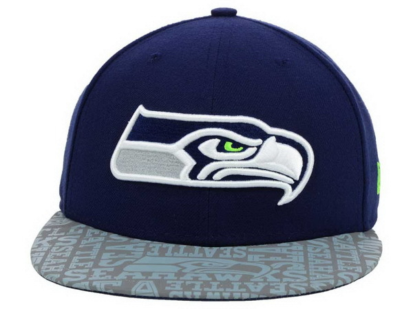 Seattle Seahawks Blue Snapback Hat XDF 0528