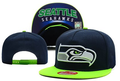 Seattle Seahawks Snapback Hat XDF F 140802 1