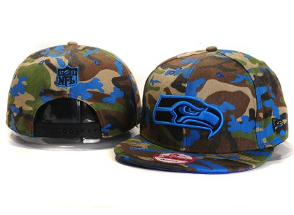 Seattle Seahawks New Type Snapback Hat YS904