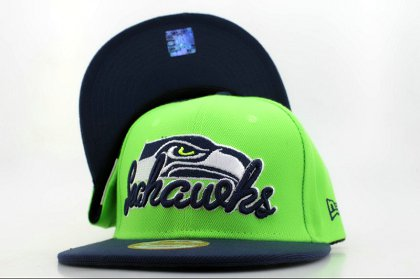 Seattle Seahawks NFL Snapback Hat QH a