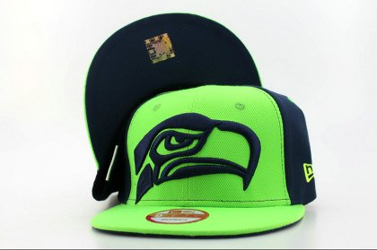 Seattle Seahawks Snapback Hat QH a1