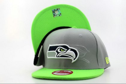Seattle Seahawks Snapback Hat QH a2