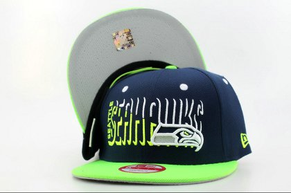 Seattle Seahawks Snapback Hat QH a3