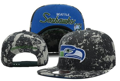 Seattle Seahawks Snapback Hat XDF-S