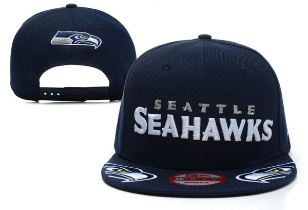 Seattle Seahawks Blue Snapback Hat XDF