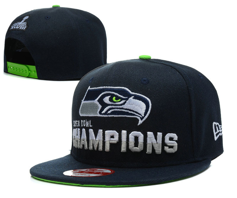 Seattle Seahawks XLVIII Snapback Hat SD