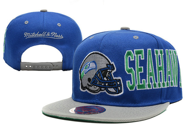 Seattle Seahawks Snapback Blue Hat LX 0620