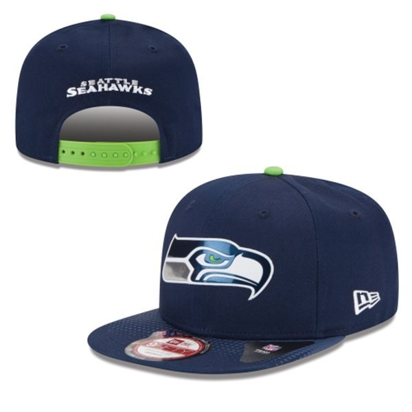 Seattle Seahawks Snapback Navy Hat 1 XDF 0620