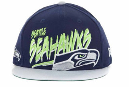 Seattle Seahawks NFL Snapback Hat 60D