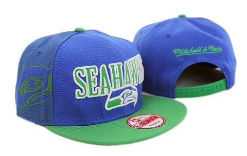 Seattle Seahawks NFL Snapback Hat YX243