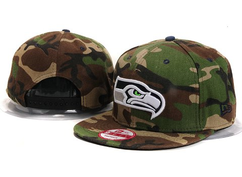 Seattle Seahawks NFL Snapback Hat YX292