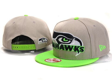 Seattle Seahawks NFL Snapback Hat YX307