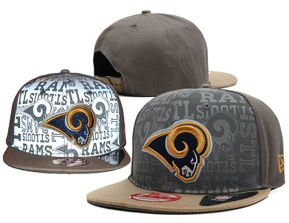 St. Louis Rams Snapback Hat SD 14080202