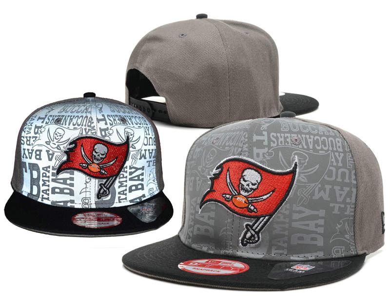 Tampa Bay Buccaneers Reflective Snapback Hat SD 0721