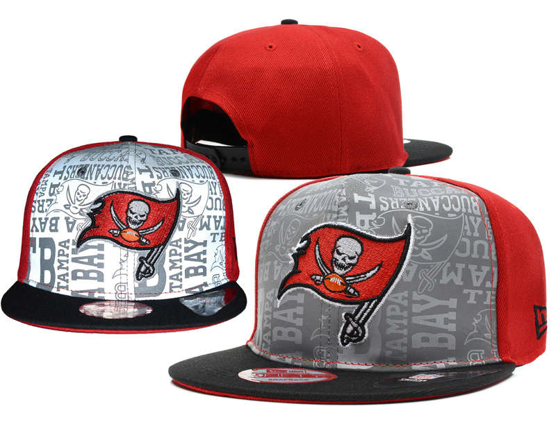 Tampa Bay Buccaneers 2014 Draft Reflective Snapback Hat SD 0613