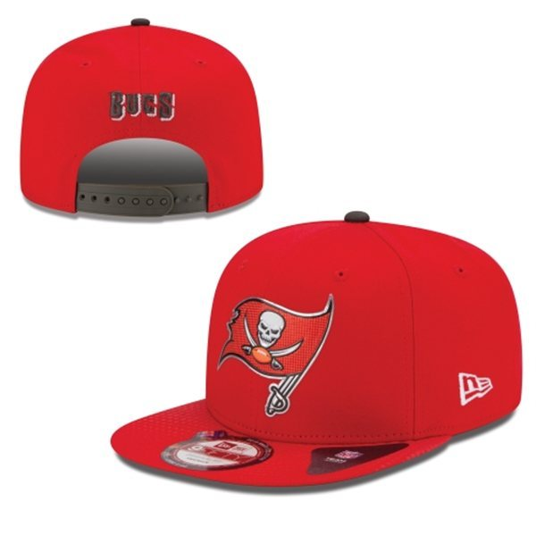 Tampa Bay Buccaneers Snapback Red Hat 1 XDF 0620