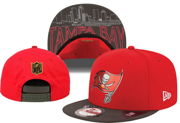 Tampa Bay Buccaneers Snapback Red Hat XDF 0620