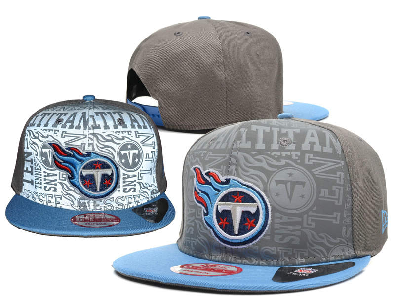 Tennessee Titans Reflective Snapback Hat SD 0721
