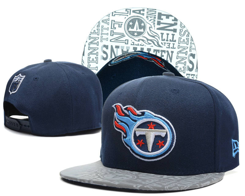 Tennessee Titans 2014 Draft Reflective Blue Snapback Hat SD 0613