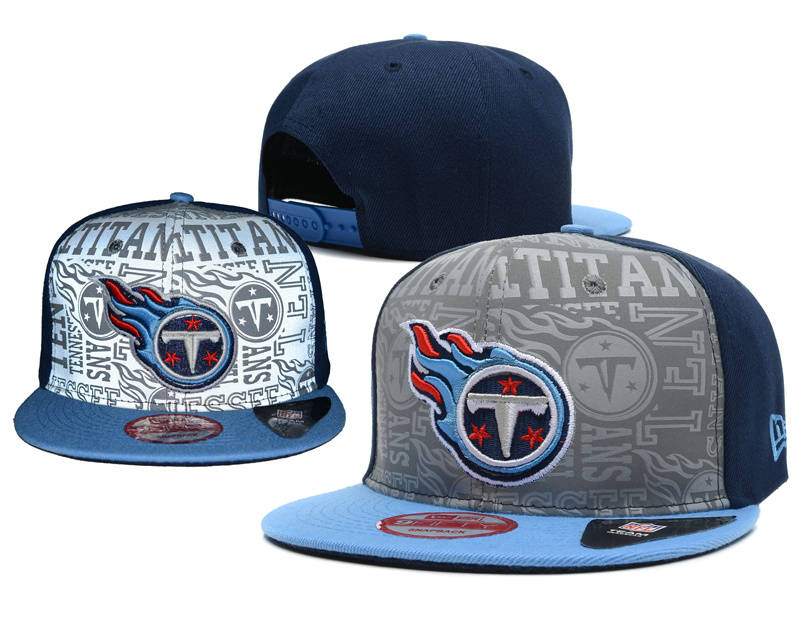 Tennessee Titans 2014 Draft Reflective Snapback Hat SD 0613