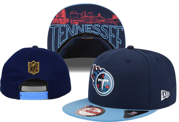 Tennessee Titans Snapback Navy Hat XDF 0620