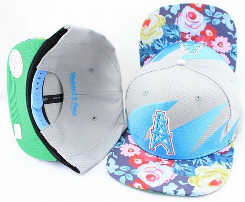 Tennessee Titans Flower Bill Snapback Hat JT13