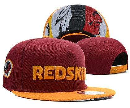 Washington Redskins Snapback Hat SD 1s27