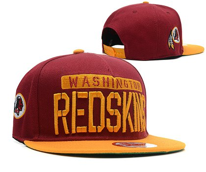 Washington Redskins Snapback Hat SD 1s32