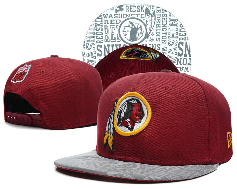 Washington Redskins 2014 Draft Reflective Red Snapback Hat SD 0613