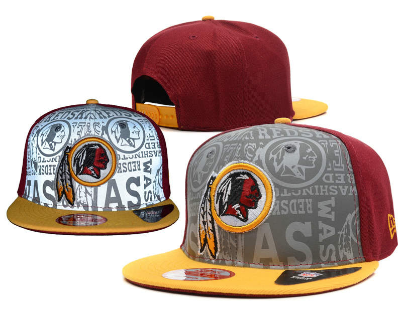 Washington Redskins 2014 Draft Reflective Snapback Hat SD 0613