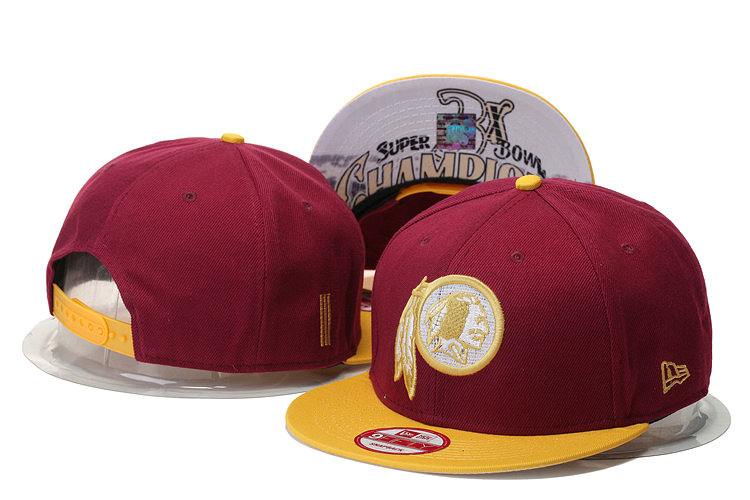 Washington Redskins Snapback Red Hat 1 GS 0620