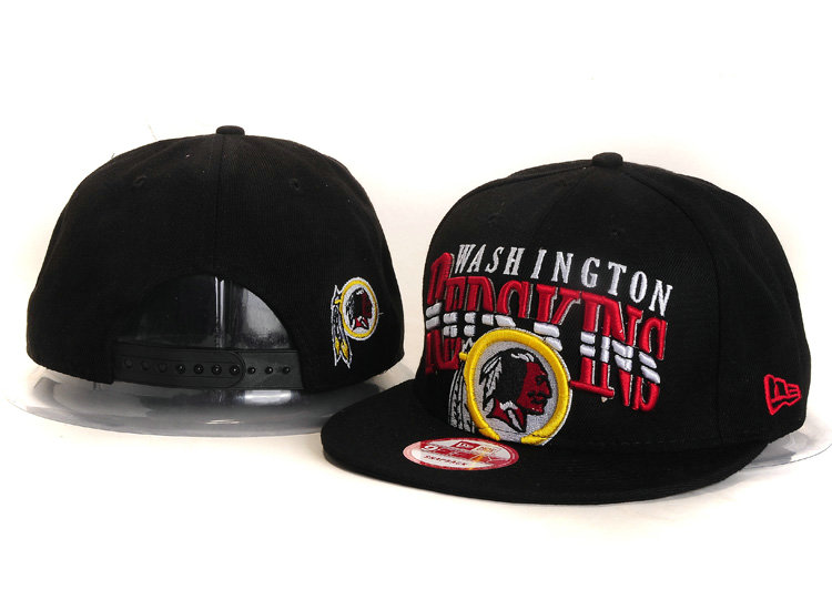 Washington Redskins Black Snapback Hat YS 2