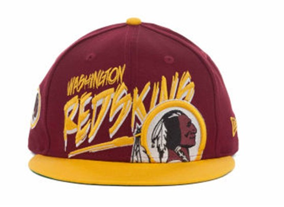 Washington Redskins NFL Snapback Hat 60D1