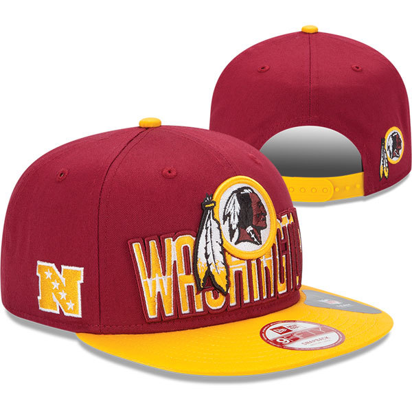 Washington Redskins NFL Snapback Hat SD2