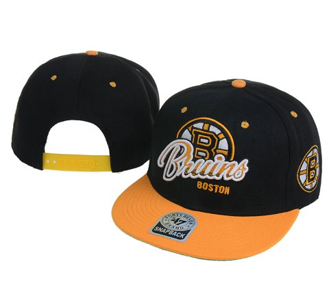 Boston Bruins NHL Snapback Hat 60D1