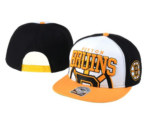 Boston Bruins NHL Snapback Hat 60D2