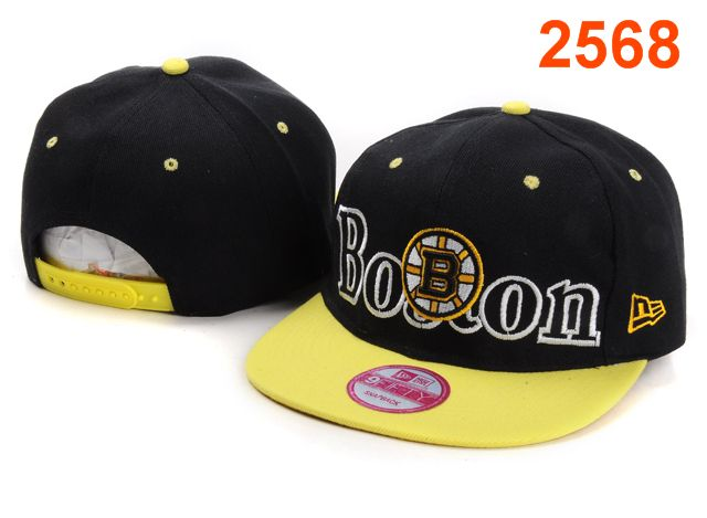 Boston Bruins NHL Snapback Hat PT03