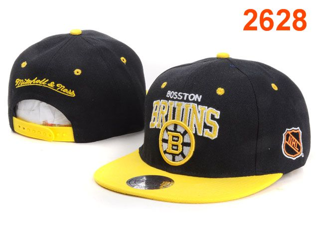 Boston Bruins NHL Snapback Hat PT27