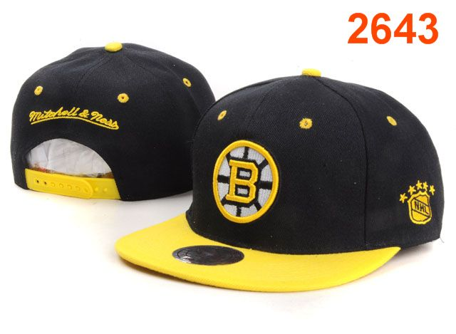 Boston Bruins NHL Snapback Hat PT42