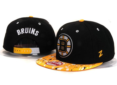 Boston Bruins NHL Snapback Hat YS21