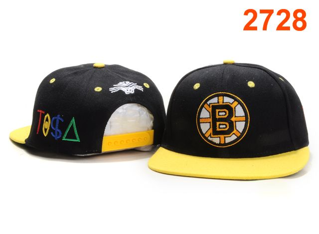 Boston Bruins TISA Snapback Hat PT34