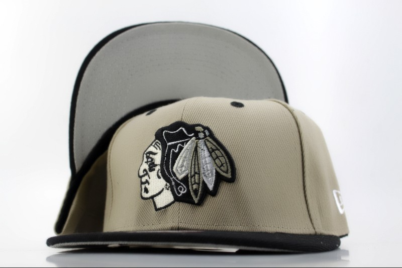 Chicago Blackhawks Grey Snapback Hat QH