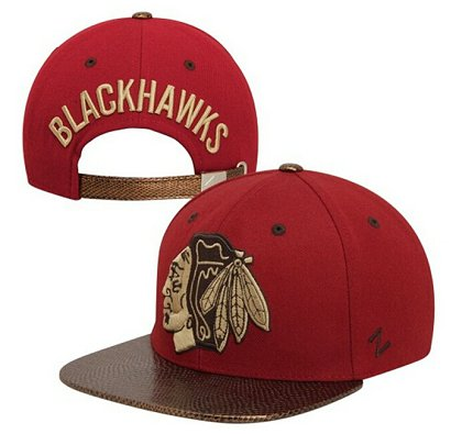 Chicago Blackhawks Hat 60D 150229 09