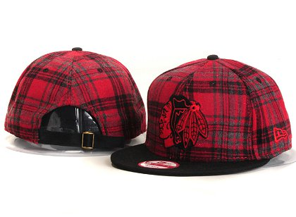 Chicago Blackhawks New Type Snapback Hat YS 8U2