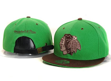 Chicago Blackhawks New Type Snapback Hat YS PS1