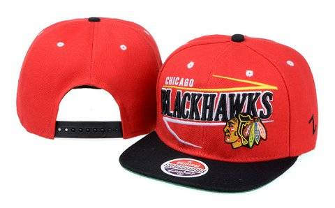 Chicago Blackhawks NHL Snapback Hat 60D