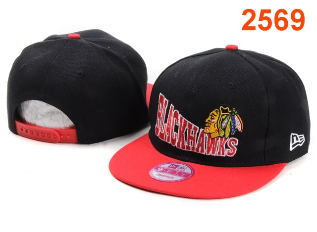 Chicago Blackhawks NHL Snapback Hat PT04
