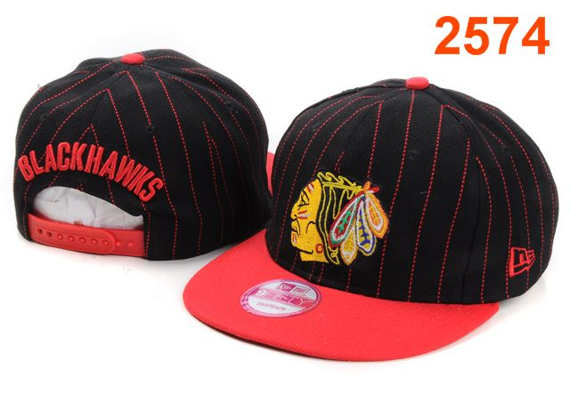 Chicago Blackhawks NHL Snapback Hat PT09