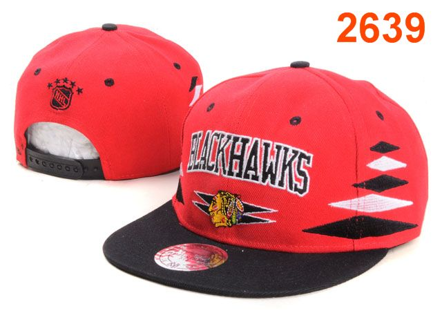 Chicago Blackhawks NHL Snapback Hat PT38
