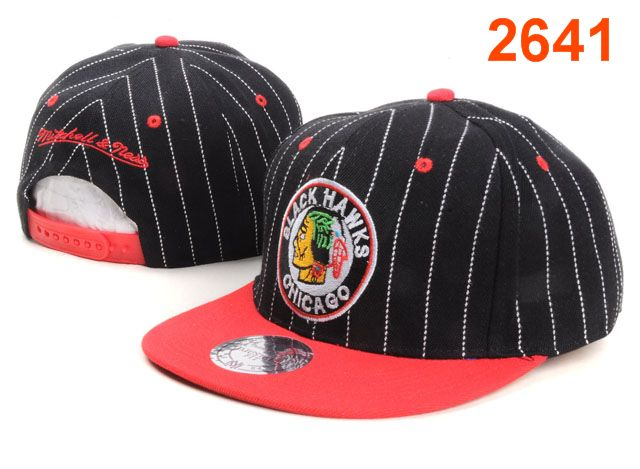 Chicago Blackhawks NHL Snapback Hat PT40